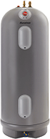 Picture of a standard Rheem Marathon Water Heater
