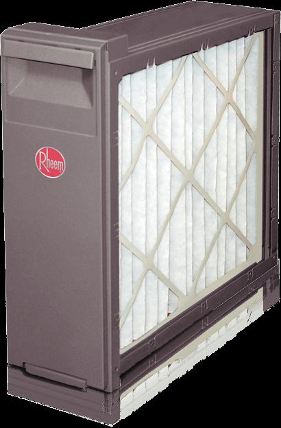 Rheem HVAC air filter picture.