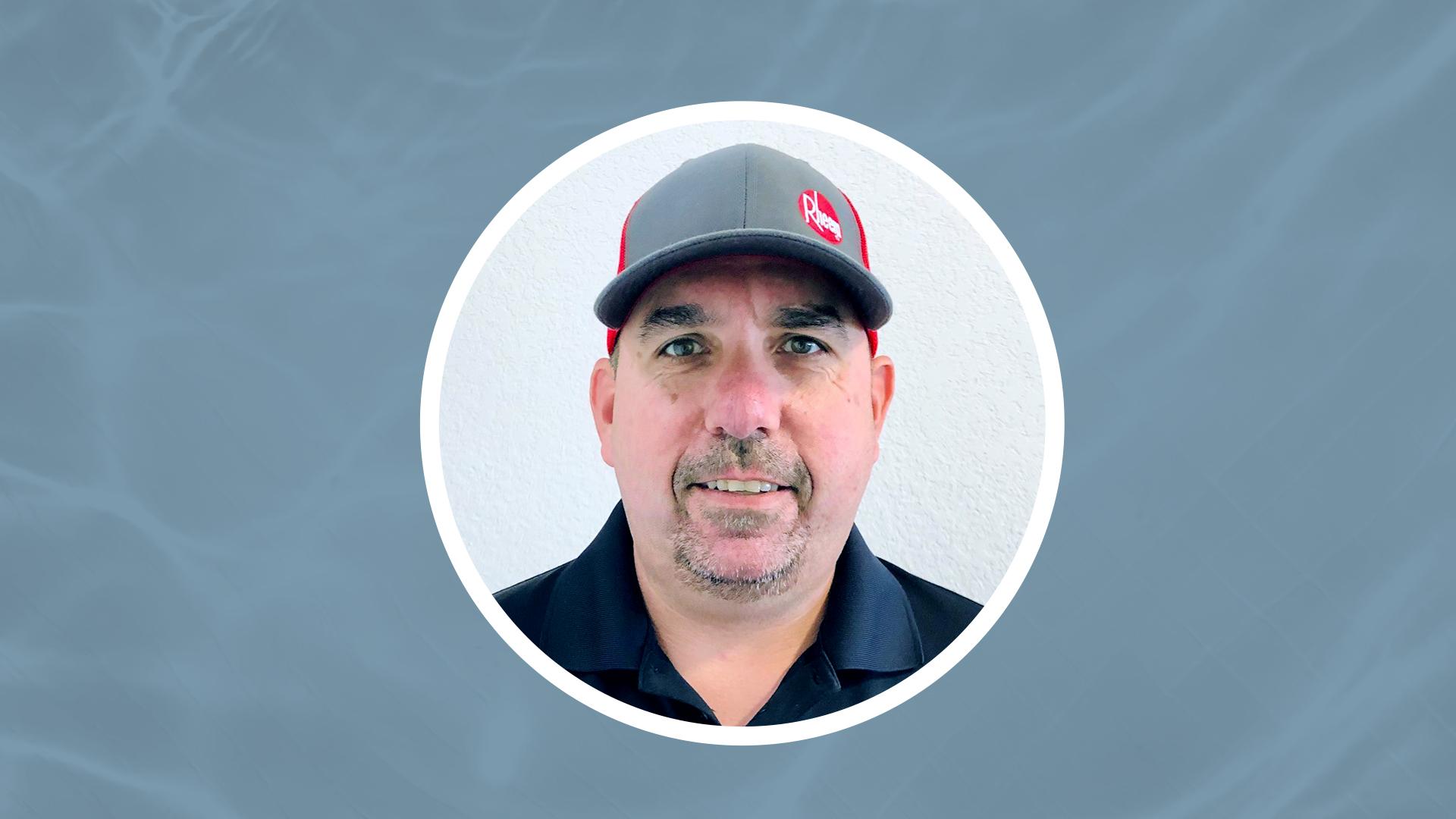 Plumber Support Manager Chris Eppley