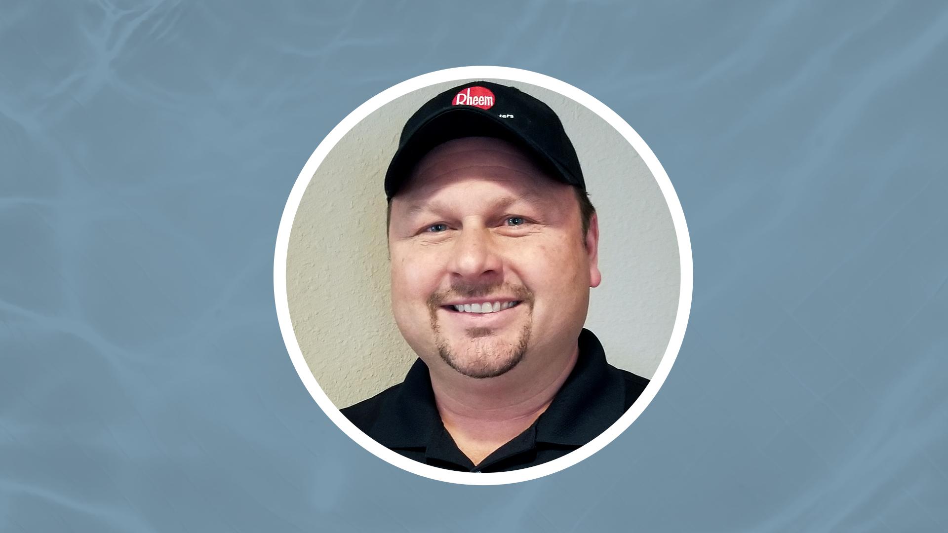 Plumber Support Manager Rob Widowski