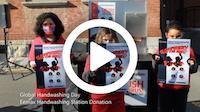 Waterbury Public Schools Handwashing Portable Station Donation