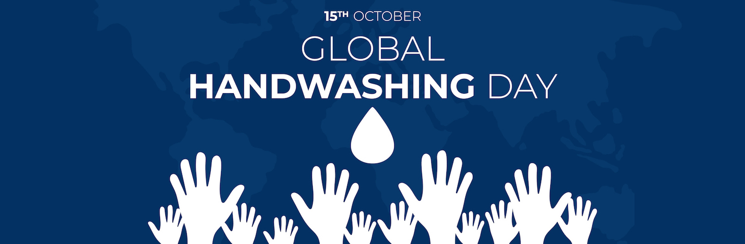 October 15th is Global Handwashing Day Banner