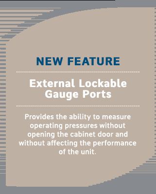 External Lockable Gauge Ports