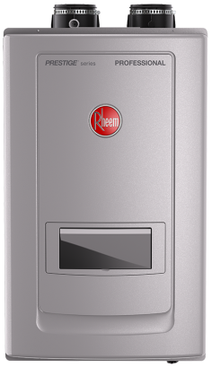 Condensing Tankless Gas Water Heaters with Built-in Recirculation