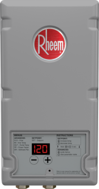 Thermostatic Tankless Electric Water Heater