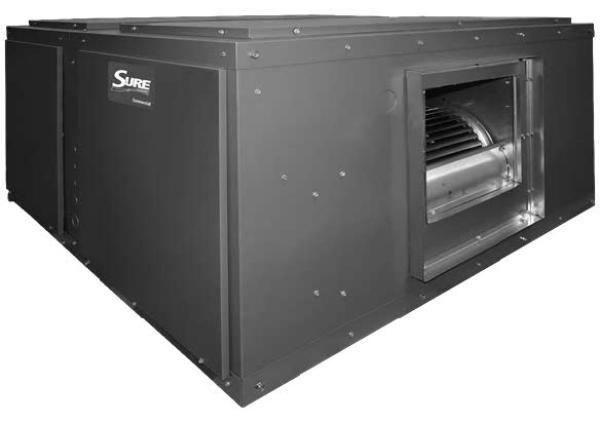 RHCLP Commercial Air Handler (Heat Pump Operation)