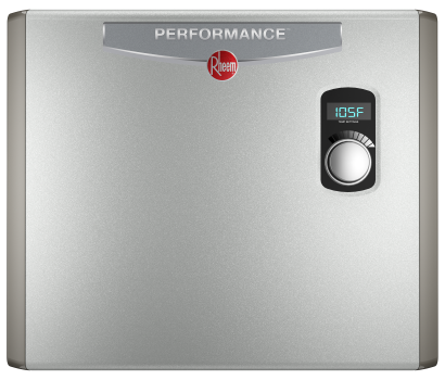 rheem tankless electric water heaters - performance tankless