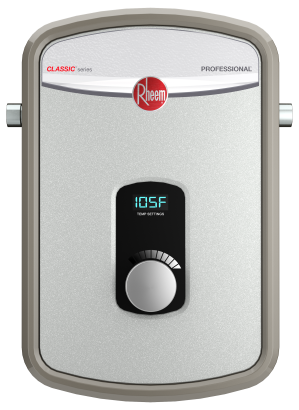 rheem tankless electric water heaters - professional classic