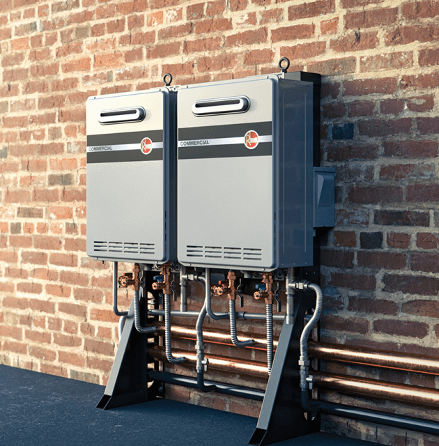 Commercial Tankless System – Wall Mounted