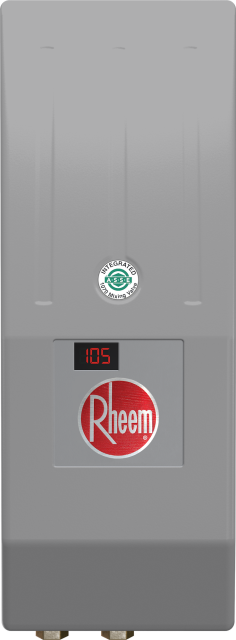 Thermostatic Tankless Electric Water Heater with Integrated Mixing Valve